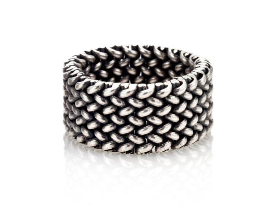 Mariano Di Vaio - Sterling Silver Mesh Ring
