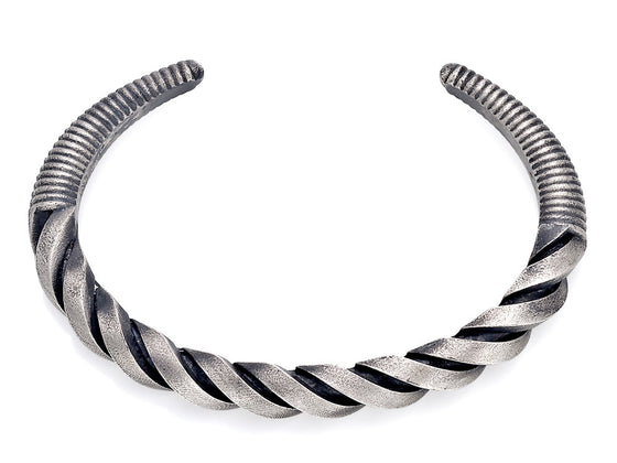 Mariano Di Vaio - Sterling Silver Spiral Bracelet