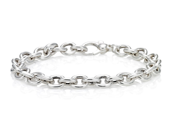 Mariano Di Vaio - Sterling Silver Circle Chain Bracelet