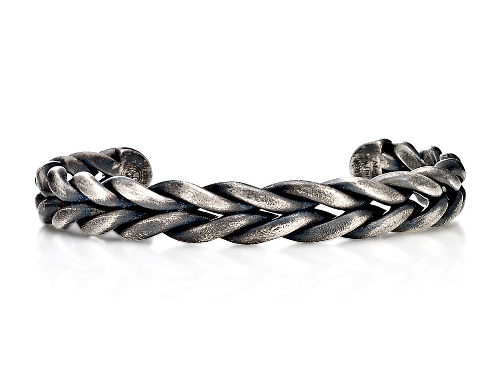 Mariano Di Vaio - Sterling Silver Gourmette Locked Bracelet