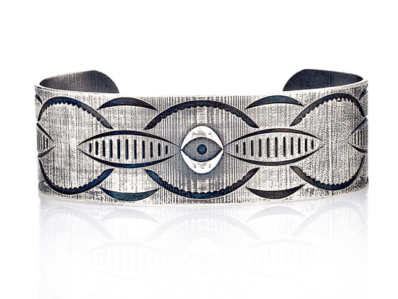 Mariano Di Vaio - Sterling Silver Taboo Band Bracelet