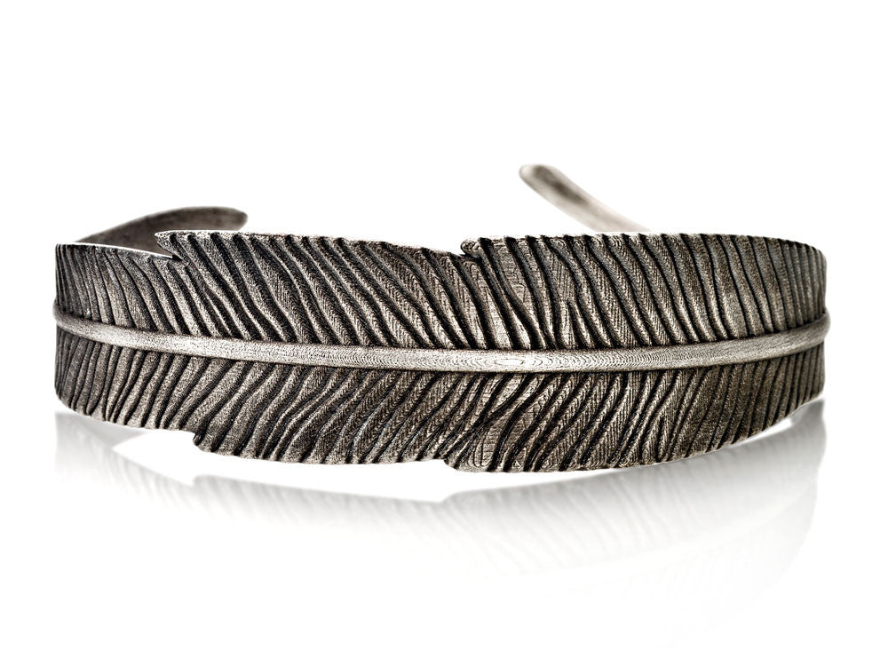 Mariano Di Vaio - Sterling Silver Feather Bracelet
