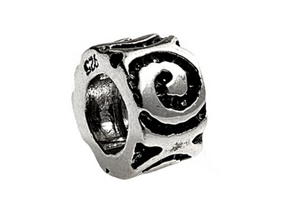 SilveRado Sterling Silver Eternal Spacer Bead / Charm