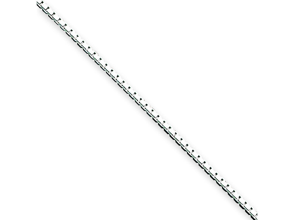 10 Inch Sterling Silver .90mm Box Chain Necklace