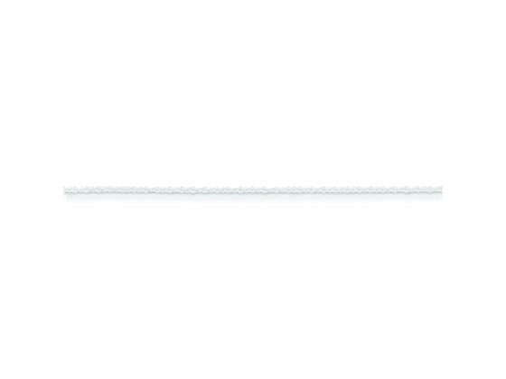 16 Inch Sterling Silver 1.2mm bright-cut Fancy Chain Necklace