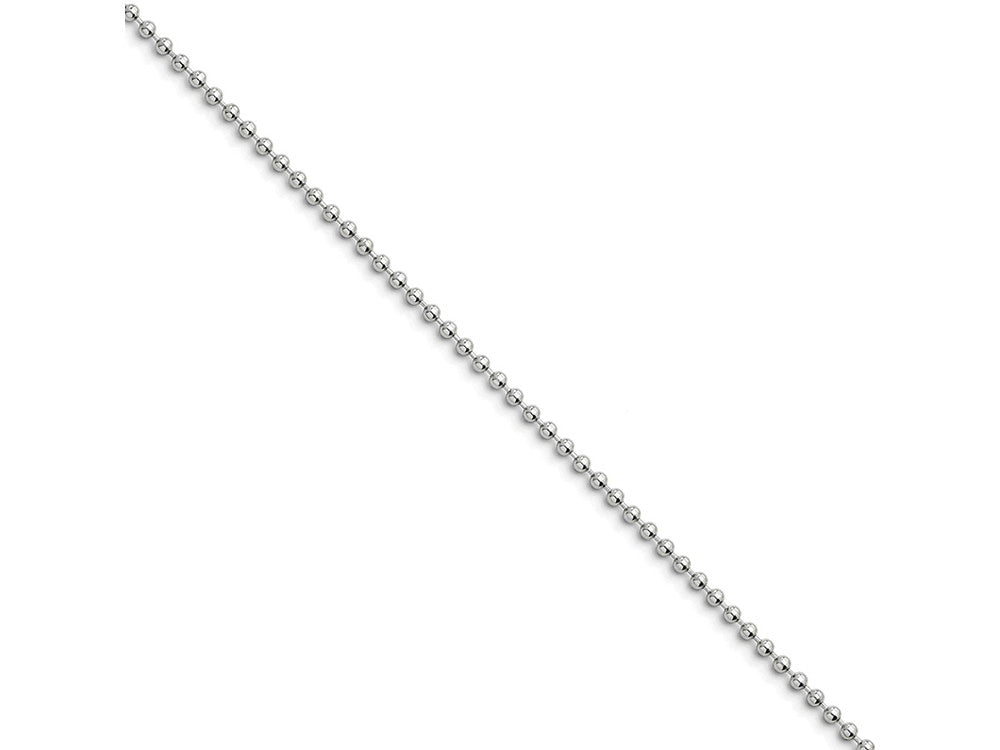 Chisel Stainless Steel 2.0mm 16in Ball Chain Necklace