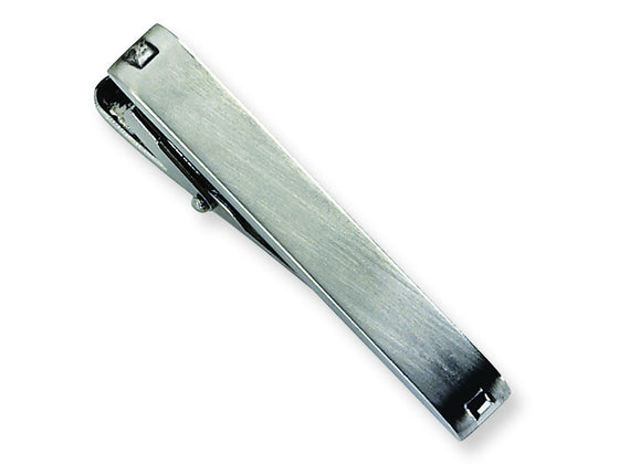 Chisel Stainless Steel Tie Clip