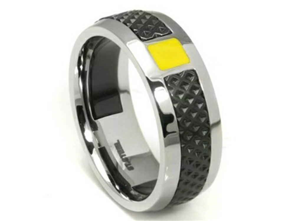Tonino Lamborghini Stainless Steel Ring