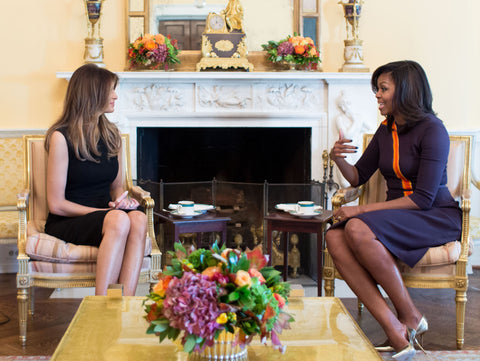 michelle-obama-and-melania-trump