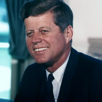 John-F.-Kennedy-wears-a-suit