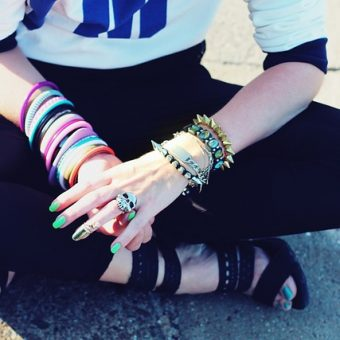 Girl-has-a-few-bracelets