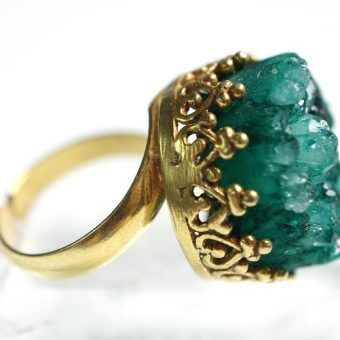 Old-ring-with-turquoise-crystal