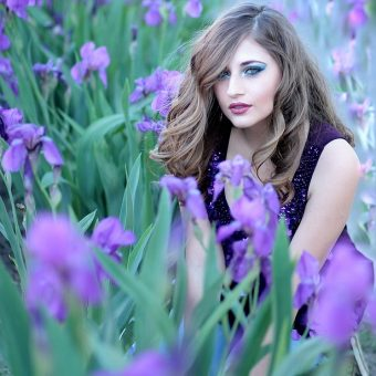 Beautiful-girl-surrounded-by-flowers