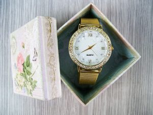 Watch-in-a-pink-box