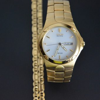 Yellow-elegant-watch