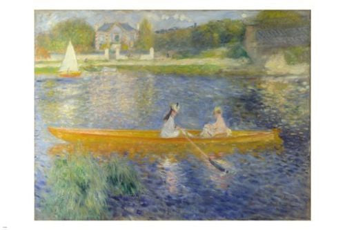 Auguste Renoir FAMOUS Boating painting FINE ART POSTER 24X36 HOT new rare