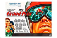 GRAND PRIX vintage sports poster RACE CAR celebrated event SPEED STYLE 24X36