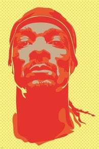 SNOOP DOGG pop art poster MAJOR RAPPER STAR vivid CELEBRITY music 24X36 HOT
