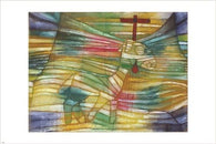 the lamb PAUL KLEE vintage ART POSTER religious cross SYMBOLIC PASTEL 24X36