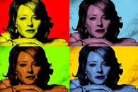 JODIE FOSTER celebrity actress MULTIPLE IMAGE pop art poster SOFT 24X36 new