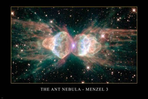 THE ANT NEBULA - Menzel 3 Hubble Space Telescope image POSTER 24x36 AMAZING