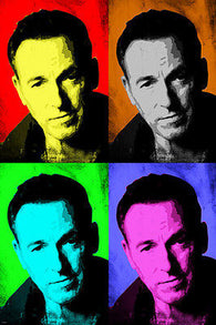 Bruce Springsteen Celebrity singer Multiple Image POP ART POSTER 24X36 new!