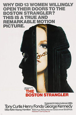 THE BOSTON STRANGLER movie poster TONY CURTIS henry fonda MURDER 24X36