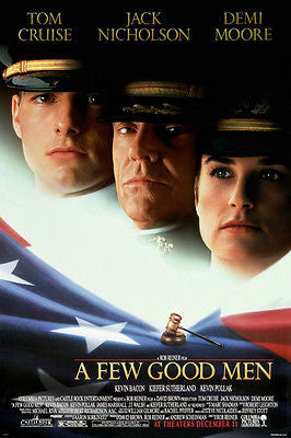 A FEW GOOD MEN movie poster tom cruise jack nicholson demi moore DRAMA 24X36