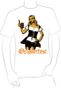 classic octoberfest German girl t-shirt BEER PARTY BLOND BAR FESTIVAL NEW  - A10