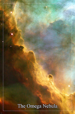 THE OMEGA NEBULA Hubble Space Telescope image POSTER 24X36 fascinating