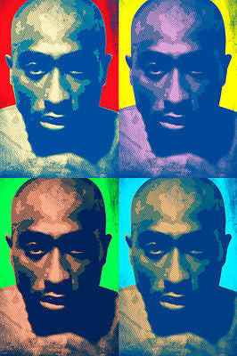 TUPAC SHAKUR celebrity SINGER pop art poster MULTIPLE IMAGES 24X36 RARE new