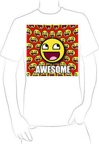 AWESOME HAPPY FACE CARTOON T-SHIRT NEW HOT EXCLUSIVE  - A10