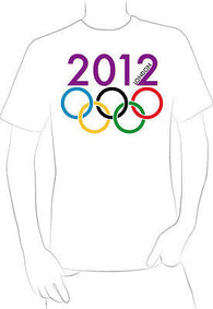 2012 LONDON SUMMER OLYMPICS GAME SPORTS T-SHIRTS souvenir NEW HOT - A10