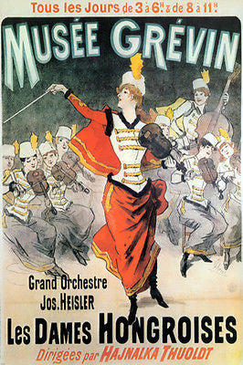 MUSEE GREVIN orchestral PERFORMANCE poster