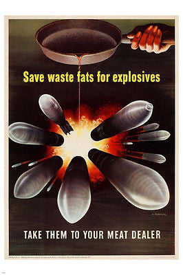 WORLD WAR II USA PATRIOTIC POSTER