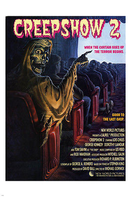 creepshow movie poster LOIS CHILES GEORGE KENNEDY horror SPOOKY campy 24X36