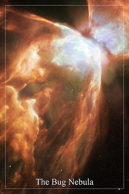 THE BUG NEBULA Hubble Space Telescope image POSTER 24X36 surprising details