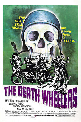 the death wheelers MOVIE poster 24X36