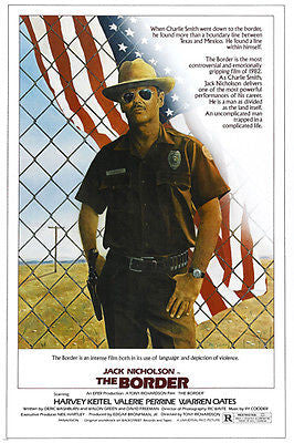 JACK NICHOLSON movie poster THE BORDER action WESTERN illegal ALIENS 24X36
