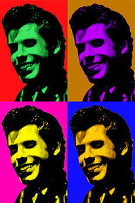 JOHN TRAVOLTA Celebrity Actor Multiple Image POP ART Poster 24X36 Colorful