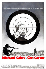 '71 GET CARTER MOVIE POSTER michael caine britt ekland 24X36 ASSASSIN action