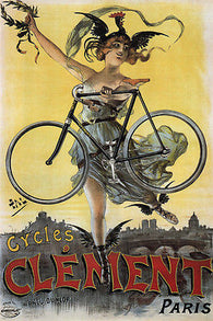 CYCLES AND CARS LEGIA VINTAGE AD POSTER georges gaudy belgium 1898 24X36 HOT