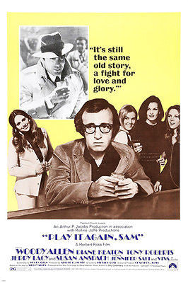 woody allen diane keaton tony roberts PLAY IT AGAIN SAM movie poster 24X36