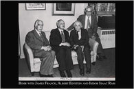 A-BOMB INVENTORS famous physicists INSPIRING photo poster EINSTEIN 24X36 new