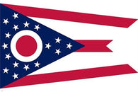 collectors symbolic historic political official OHIO STATE FLAG POSTER 24X36