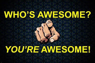 AWESOMENESS motivational posters 24X36 FUNNY inspirational gem