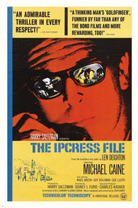 1965 Michael Caine Nigel Green THE IPCRESS FILE MOVIE POSTER Thriller 24X36