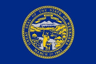 nebraska state flag poster OFFICIAL historic POLITICAL collectors 24X36 NEW