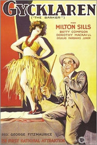 1928 vintage movie poster THE BARKER milton sills PART-TALKIE drama 24X36