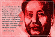 communist revolutionary MAO TSE-TUNG motivational QUOTE POSTER 24X36 bold